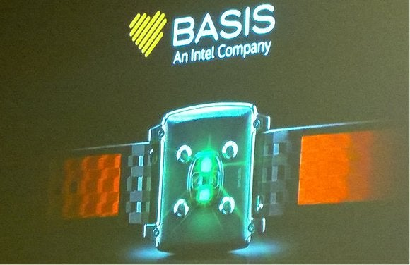 basis peak Intel smartwatch