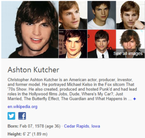 bing ashton kutcher