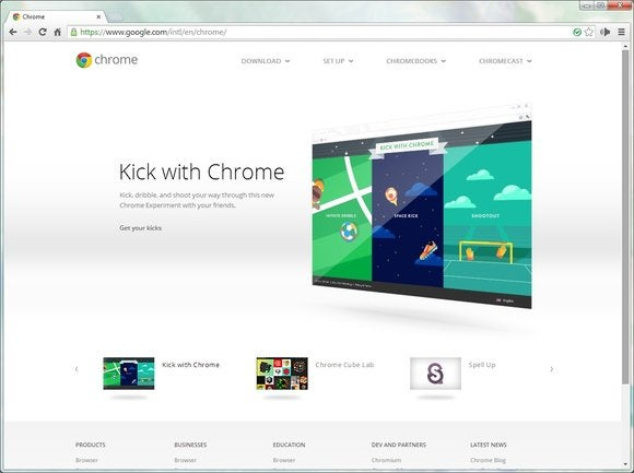 browser roundup sept 2014 chrome screen