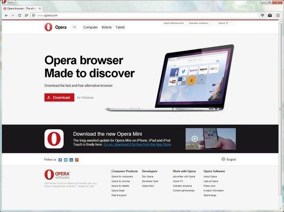 browser roundup sept 2014 opera screen
