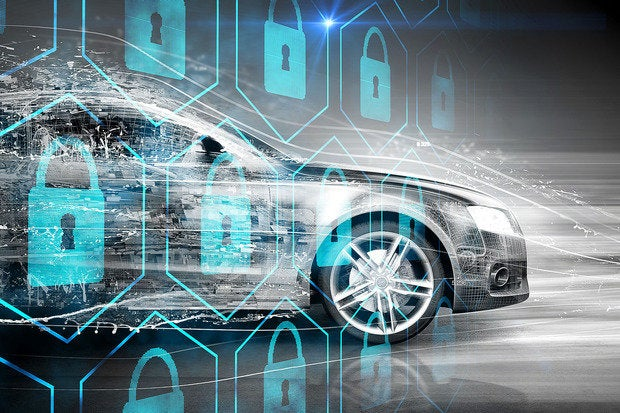 Cybersecurity problems with connected cars autonomous cars driverless cars