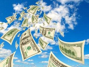 clouds money