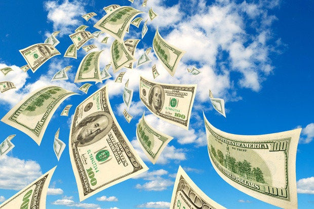 clouds money