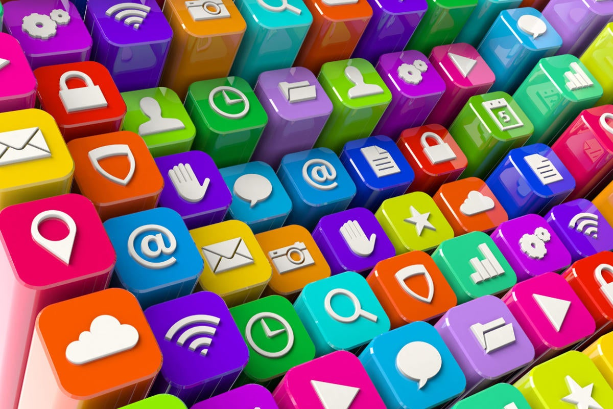 colorful apps