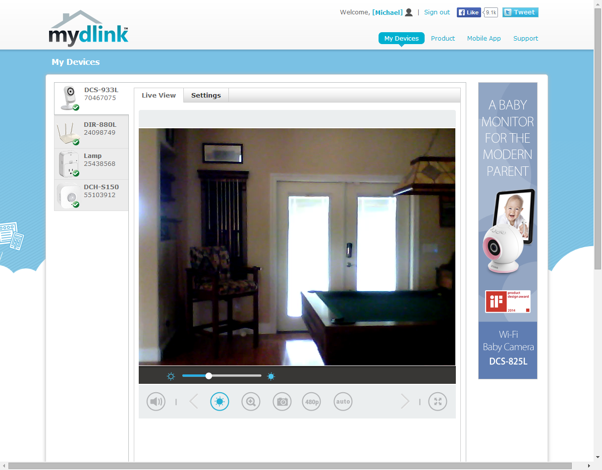 D-Link DCS-933L Day/Night Network Camera review | TechHive