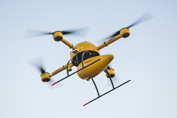 DHL to test 'parcelcopter' drone for medicine delivery