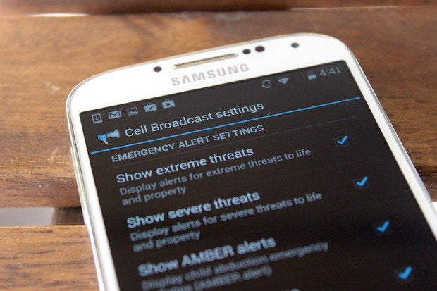 How to disable or enable emergency alerts on Android phones