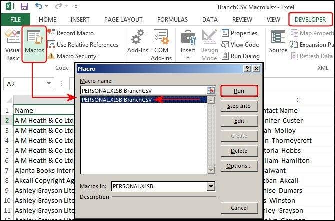 How To Create Macros In Excel 2013