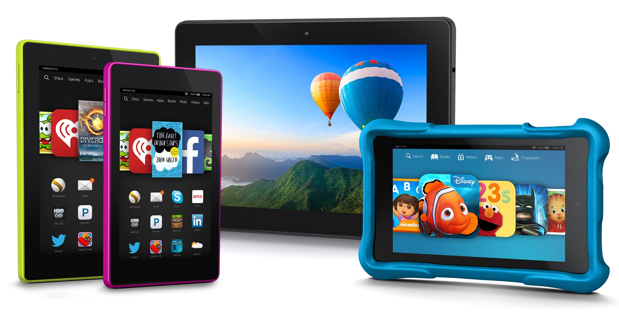 amazon refreshes fire tablets introduces fire hd kids edition and rh pcworld com Amazon Kindle Fire HD 8 amazon kindle fire manual