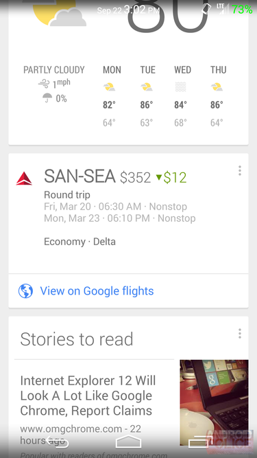google now flights