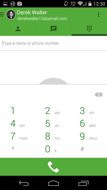 How to use Google Voice with the new Hangouts app | Greenbot