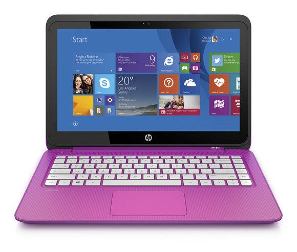 hp stream 13 3 orchid magenta front