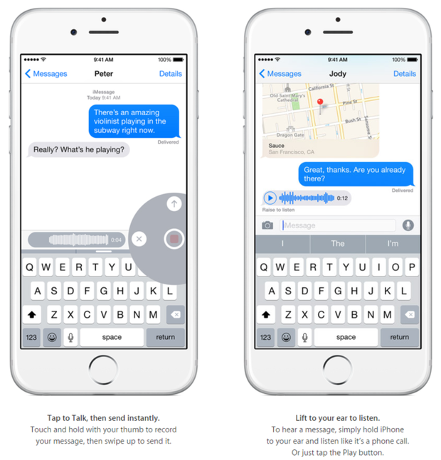 imessage audio