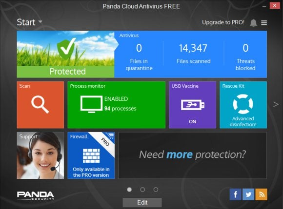 Free antivirus software Panda tops AV-Test's security rankings | PCWorld