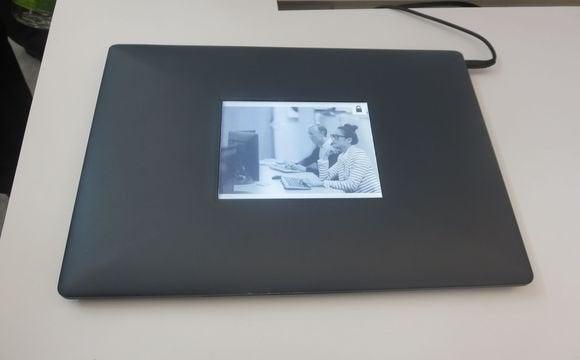 intel eink laptop second screen