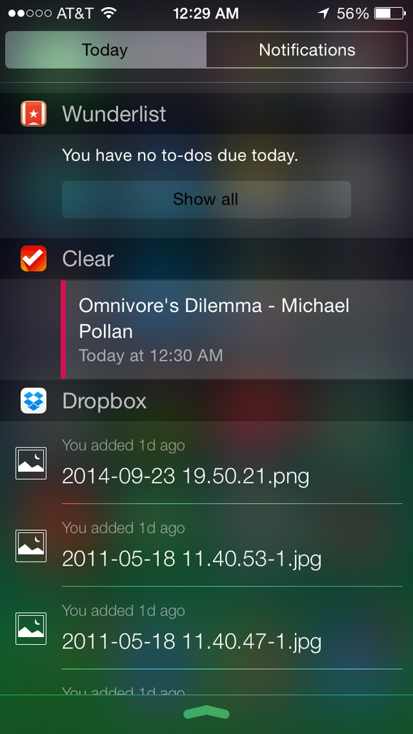 notification center iphone the best notification center widgets in ios 8 right now 9792