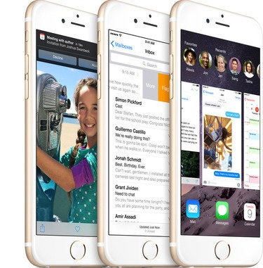 Apple iOS 8 on the iPhone