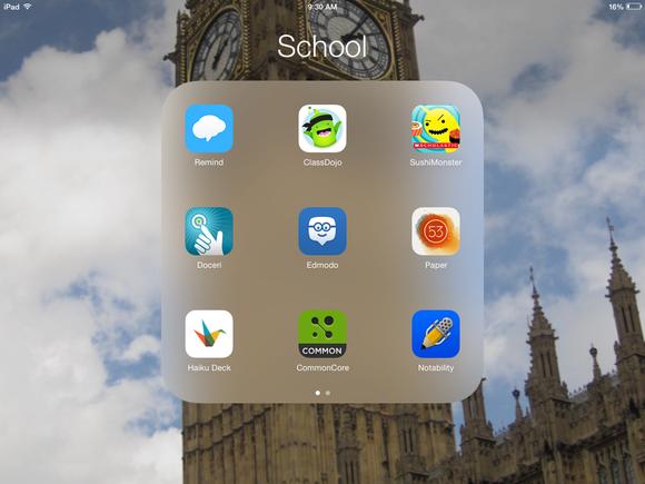 ipad apps school