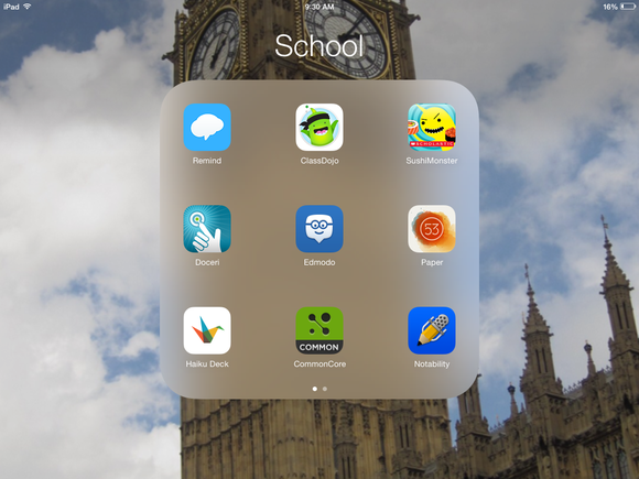 ipad apps school