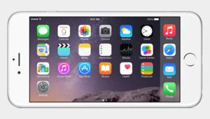 iphone 6 landscape mode