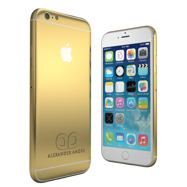 pricey gold iphone 6 available for preorder images cio. Black Bedroom Furniture Sets. Home Design Ideas