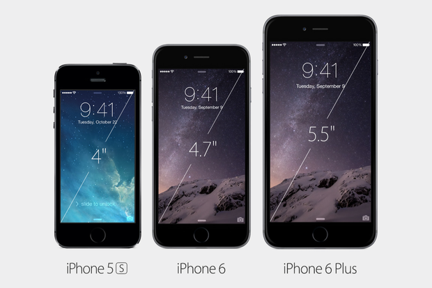 iphone 5s screen size i thought the iphone 6 was big i was wrong 14866
