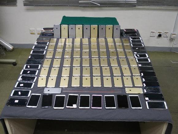 iphone 6 smuggle china