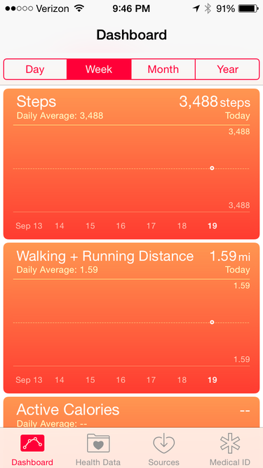iPhone Health app