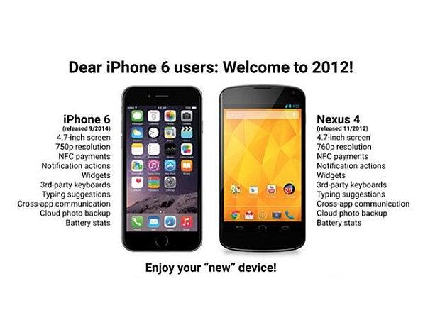 iphone nexus compare