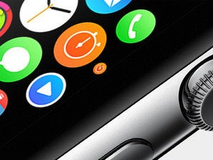Apple iWatch apps, controlled by the digital crown