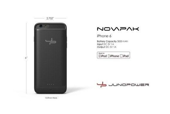 junopower novapak iphone