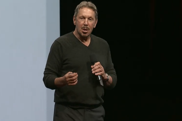 larry ellison openworld 2014