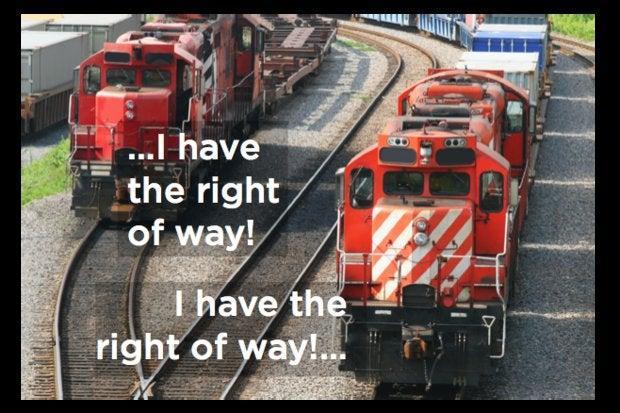 Train security