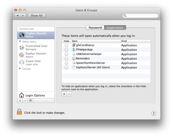 Four Ways To Open Applications And Documents Automatically In Os X Macworld