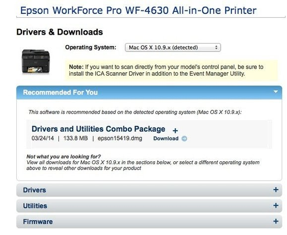 The trick to finding the right printer driver for your Mac