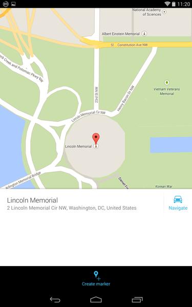 maps add a pin