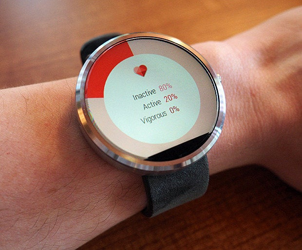 Moto 360 Heart Rate Sensor