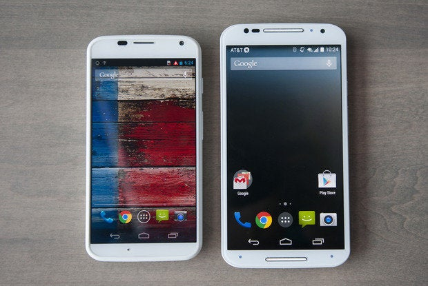 Moto X new vs old