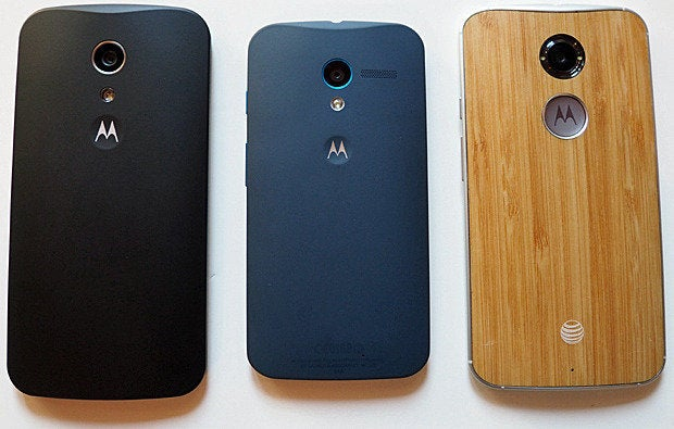 New Moto G vs. Moto X
