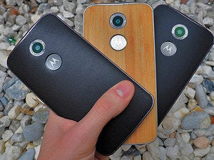 New Moto X Leather Wood Plastic
