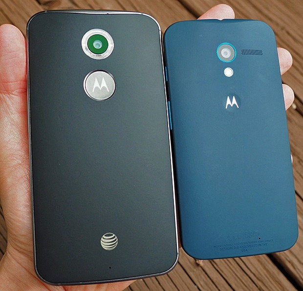 New Moto X Plastic vs. Old