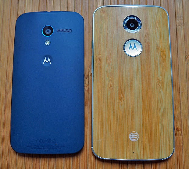 New Moto X vs. Original: Size
