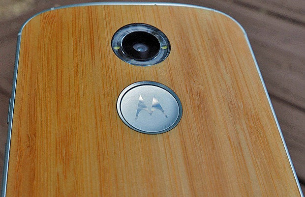 New Moto X Wood