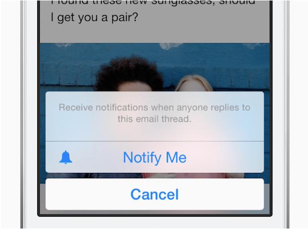 notify me use