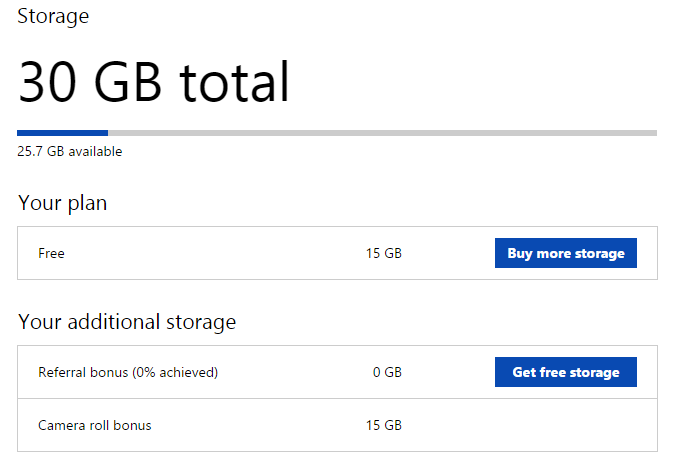 How to double your free OneDrive storage to 30GB | PCWorld