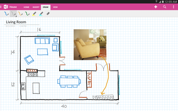 onenote android