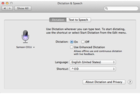 Enable OS X's Enhanced Dictation for on-the-fly transcription
