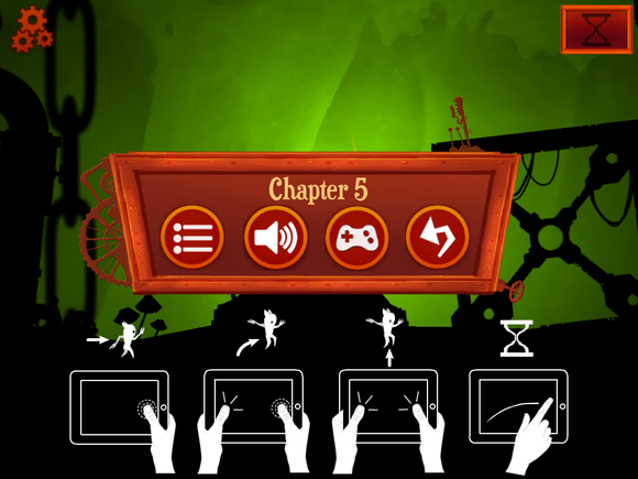 oscura touch controls