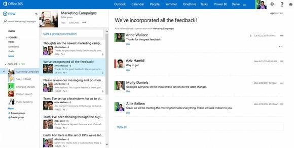 Microsoft Rolls Out Groups Feature To Office 365 Users