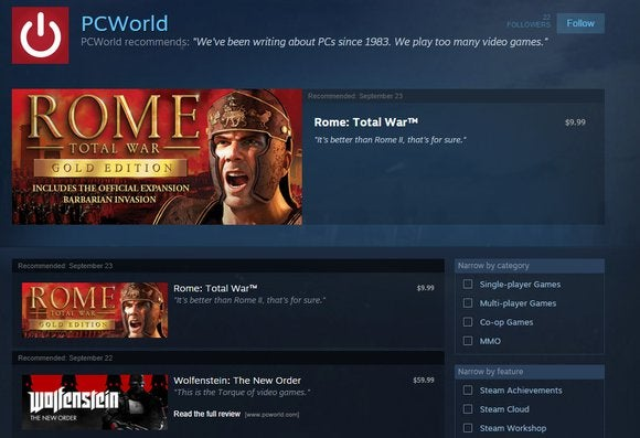 pcworld curator steam